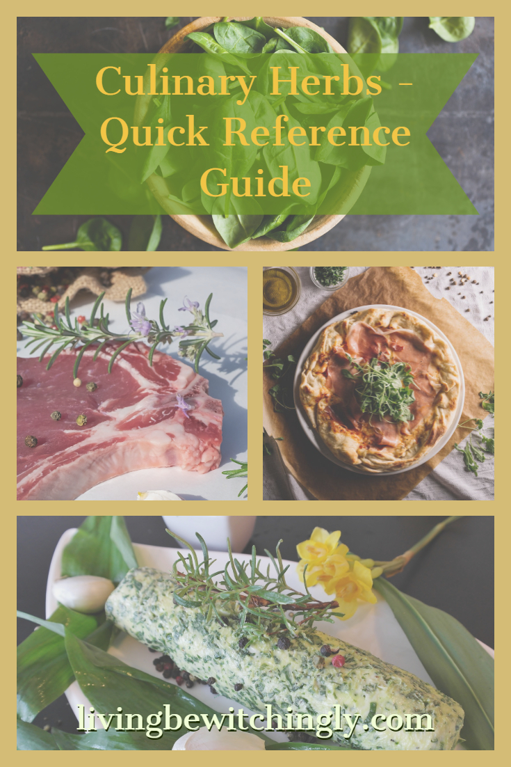 Culinary Herbs Reference Guide - What herbs go with what?