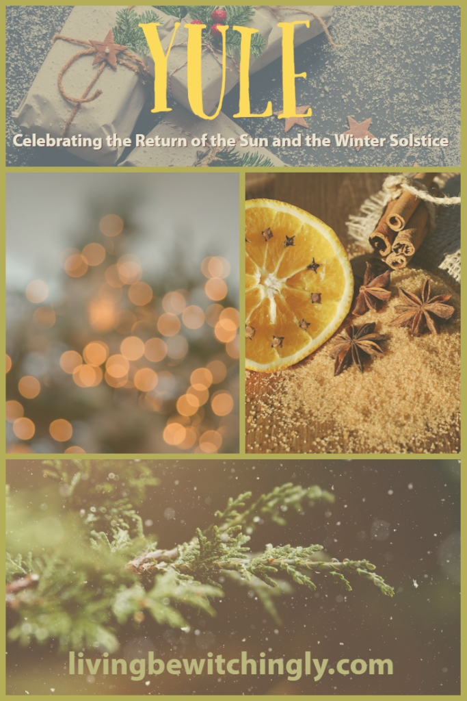 Yule: Celebrating the Return of the Sun and the Winter Solstice by livingbewitchingly.com
