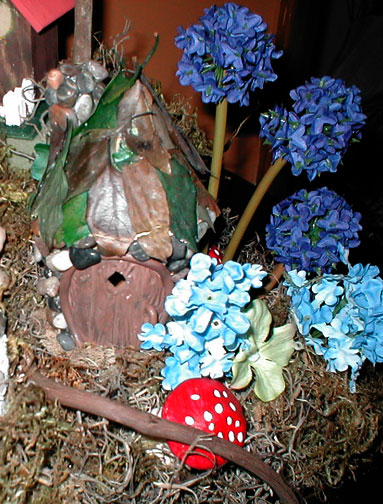 An Indoor Fairy Village from Scratch - livingbewitchingly.com